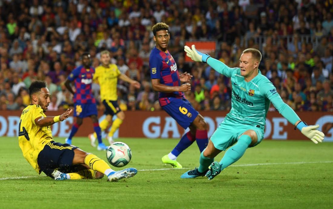 Барселона - Арсенал: видео голов