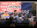 Гринпис прокрался на пресс-конференцию мадридского Реала