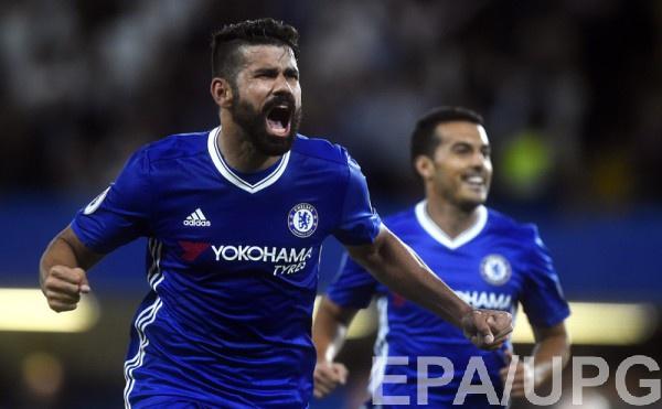 Диего Коста забил второй гол в матче