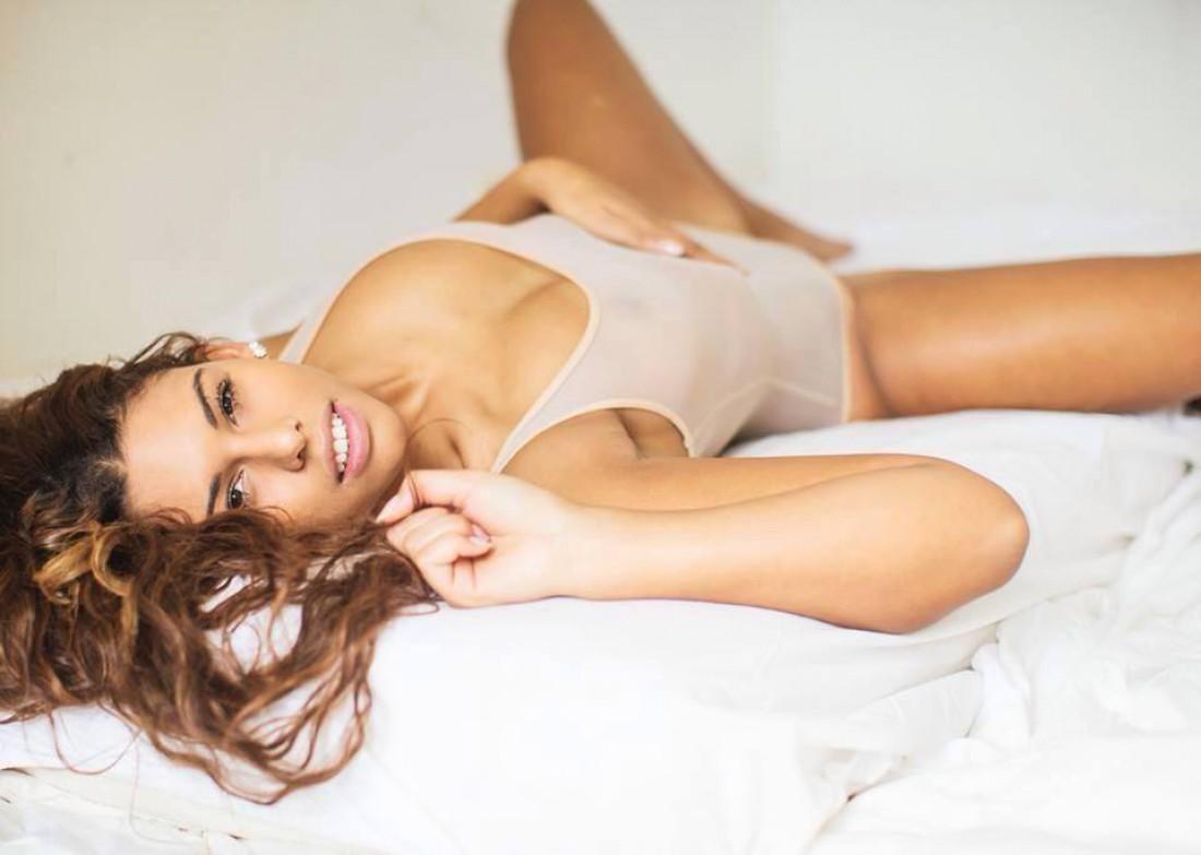 Бельгийская модель Настассия ван Керквоорд