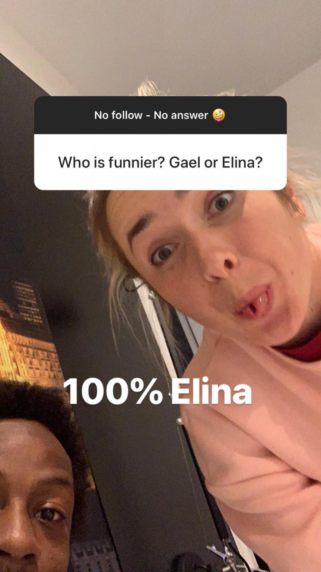 Кто смешнее? Гаэль или Элина?