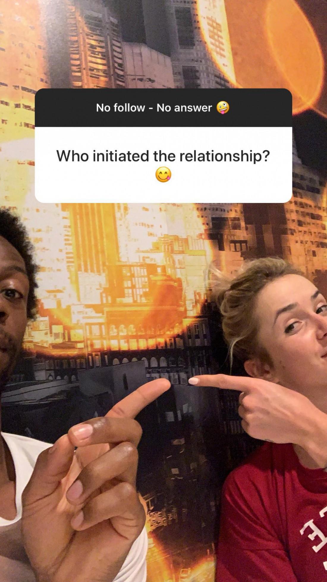 Кто инициировал отношения?