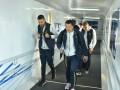 Сборная Украины прилетела в Сербию на матч отбора на Евро-2020