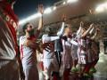 Монако отпраздновал выход в четвертьфинал ЛЧ пением в раздевалке