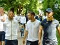 Объятия и речь Шевченко: что происходило в раздевалке сборной Украины после матча с Литвой