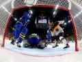 Швеция разгромила Германию на ЧМ по хоккею