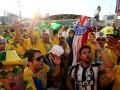 Бразильские фанаты устроили траурное шествие по сборной Германии