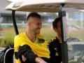 Ярмоленко прибыл на тренировку Боруссии на гольф-каре