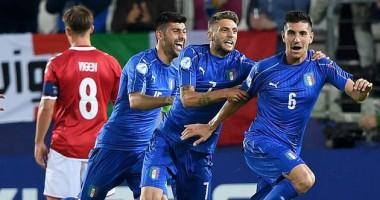 Видео крутого гола полузащитника сборной Италии в ворота Дании