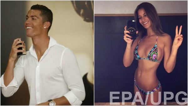 Криштиану Роналду идевушки: Мисс Испания-2015 вместо Иры Шейк