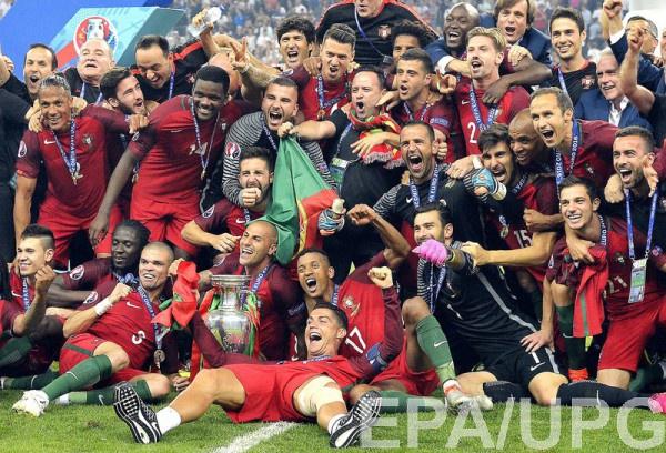 Чемпионы Евро-2016 - сборная Португалии