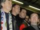 Счет обязывает: Президент Словении Данило Турк гордо возвышается над своим российским коллегой