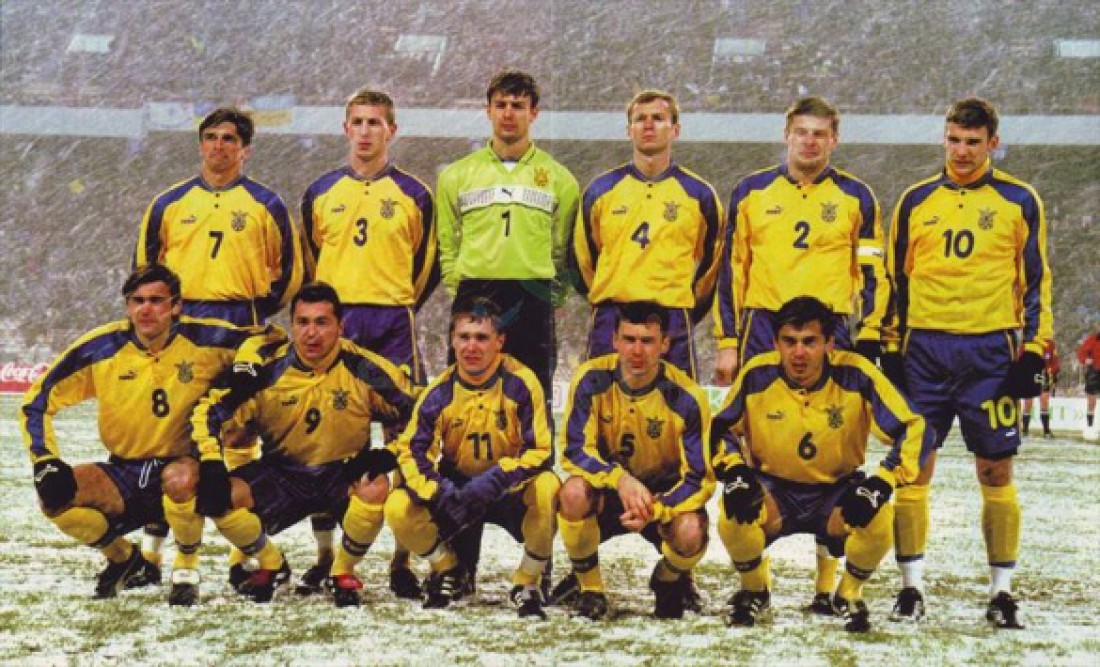 Четвертая форма сборной Украины