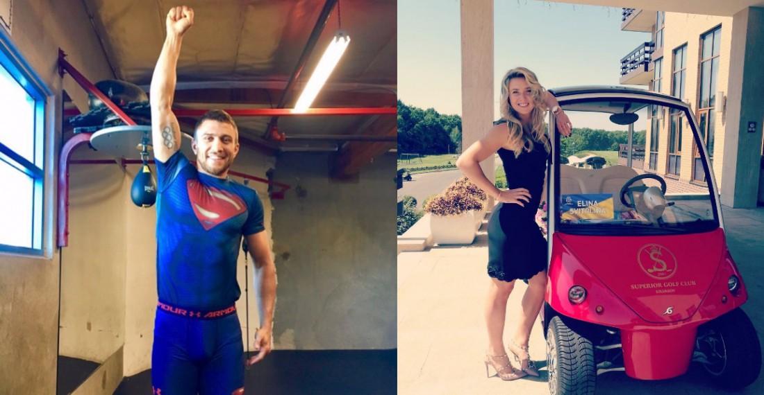 Ломаченко - супермен и шикарная Свитолина со своей тачкой