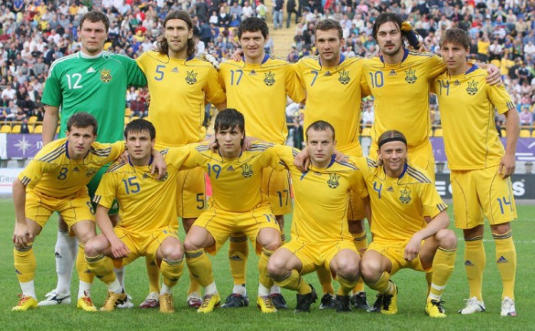 Двенадцатая форма сборной Украины