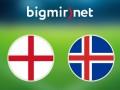 Англия - Исландия 1:2 Трансляция матча Евро-2016