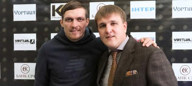Александр Усик не собирается переезжать в США
