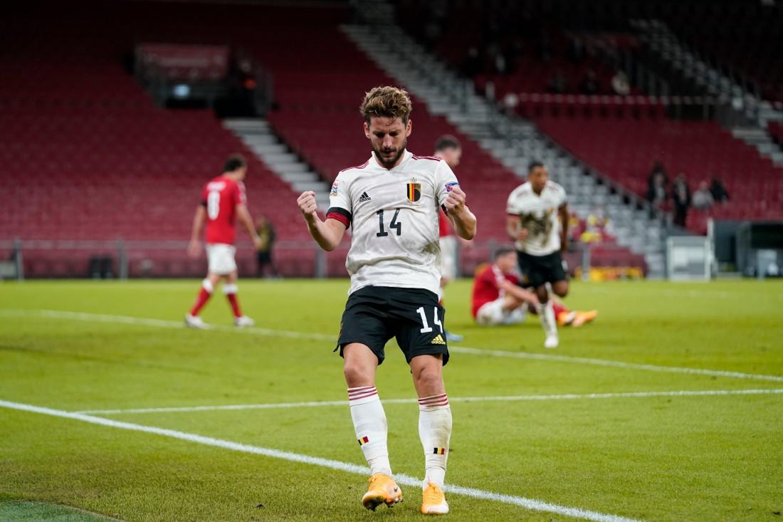 Дания - Бельгия: видео голов и обзор матча