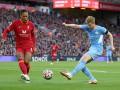 Ливерпуль и Манчестер Сити в зрелищном матче разошлись миром