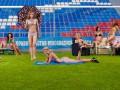 Ответ немкам. Футболистки Россиянки разделись перед объективами фотокамер
