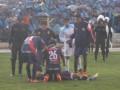 В Боливии после удара молнии умер футболист