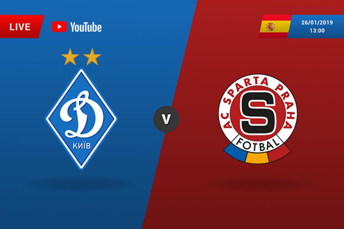 Динамо - Спарта: онлайн трансляция