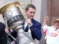 Звезда украинского хоккея привез в Киев самый желанный трофей КХЛ