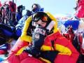 Альпинистка, покорившая Эверест, оказалась болельщицей Шахтера