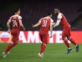 Наполи - Арсенал: видео фееричного гола со штрафного Александра Ляказетта