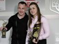 Радивилов и Варвинец получили свои награды Лучшего спортсмена месяца