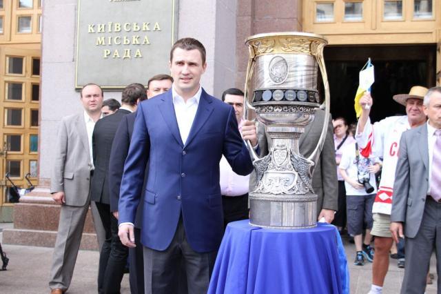 Касянчук с Кубком Гагарина