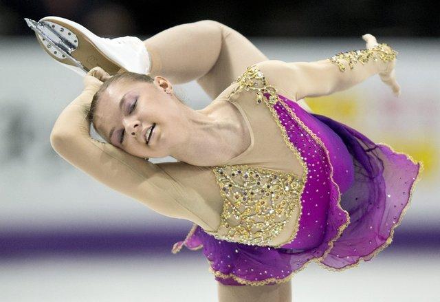 Украинка Наталья Попова занимает третье место после короткой программы
