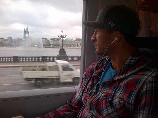 Владимир Кличко по дороге в Берлин
