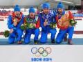 Сборная России лишилась единственного золота в биатлоне на Олимпиаде в Сочи