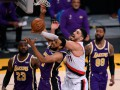 НБА: Лейкерс обыграли Портленд, Детройт проиграл Сакраменто