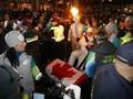 В Канаде напали на олимпийского факелоносца