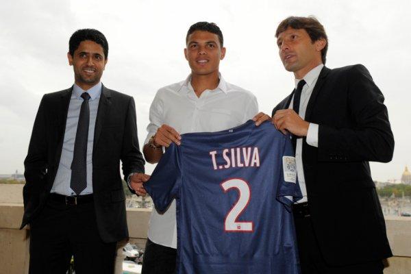 Силва был представлен в качестве игрока ПСЖ
