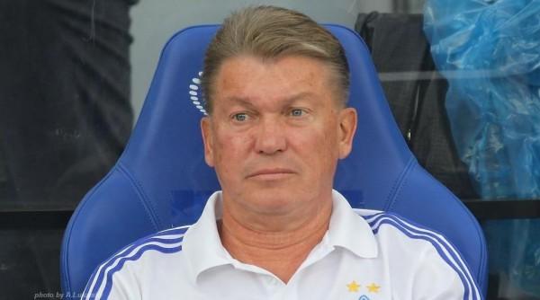 У Олега Блохина контракт с Динамо еще на два с половиной года