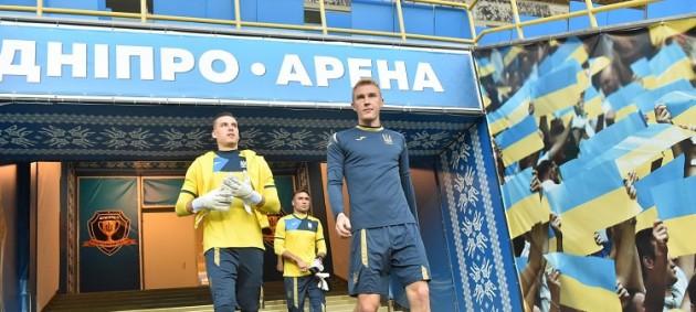 Стала известна заявка сборной Украины на матч с Нигерией