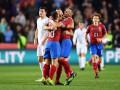 Сборная Чехии сенсационно вырвала победу в матче против Англии