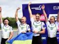 Украинская четверка выиграла серебряные медали ЧЕ по гребле