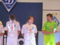 Фотогалерея: Киевское Динамо показало болельщикам новую форму