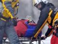 Разбившегося горнолыжника ввели в состояние комы