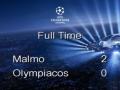 Мальме - Олимпиакос - 2:0. Видео голов матча Лиги чемпионов