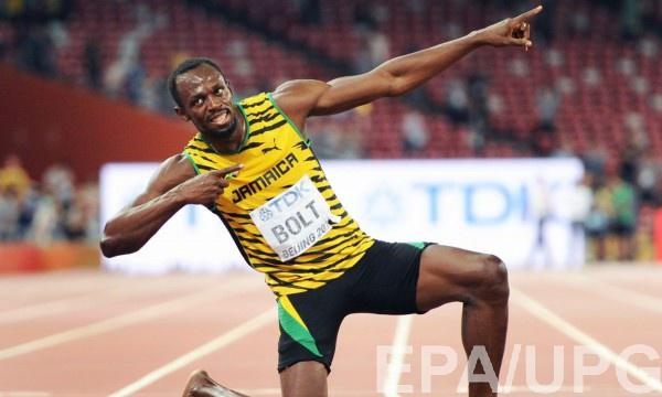 Болт может пропустить из-за травмы Олимпийские игры