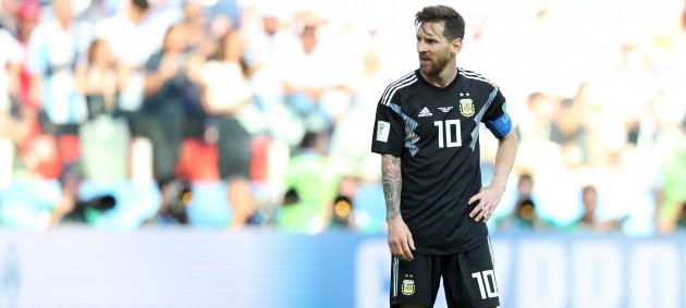 ЧМ-2018: Аргентина потеряла очки в матче с Исландией