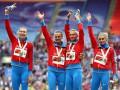 Сборную России лишили золота чемпионата мира - 2013 в женской эстафете