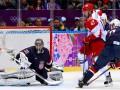 Хоккей. США в серии буллитов обыгрывает сборную России