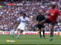 Гол-красавец Луиша Фигу в матче звезд Реала и МЮ