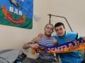 Игроки сборной Украины во Львове навестили раненых бойцов АТО